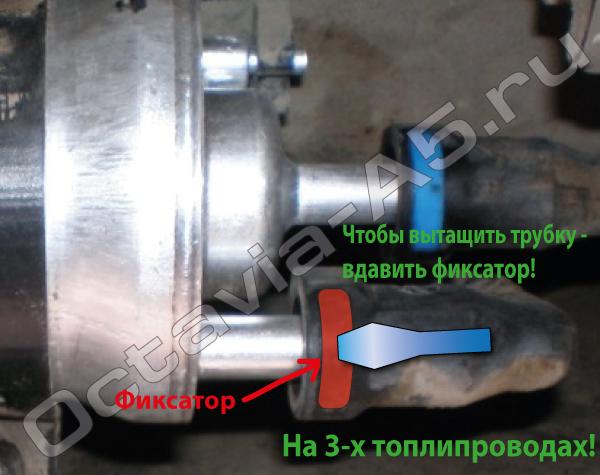 Топливный фильтр Шкоды-Октавии