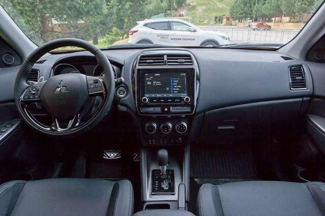 Что лучше Mitsbishi ASX или Nissan Qashqai