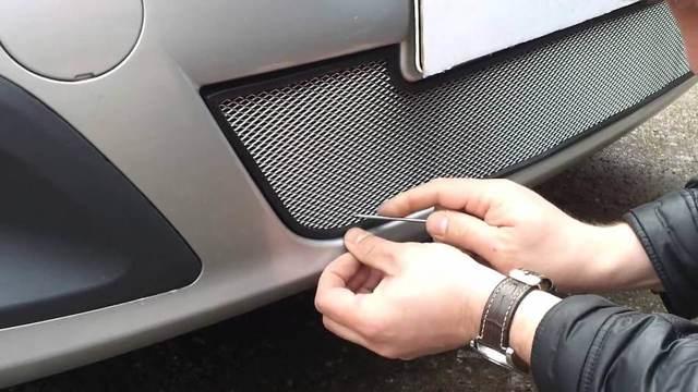 Выбор сетки для дополнительной защиты радиатора автомобиля