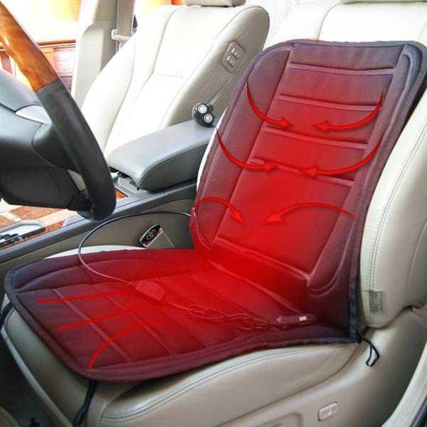 Разновидности чехлов с подогревом для сидений автомобиля
