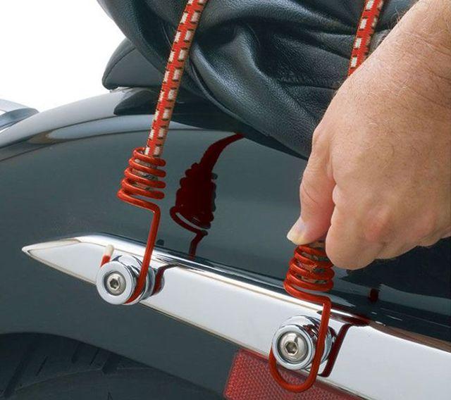 Основные характеристики сеток для багажника мотоцикла