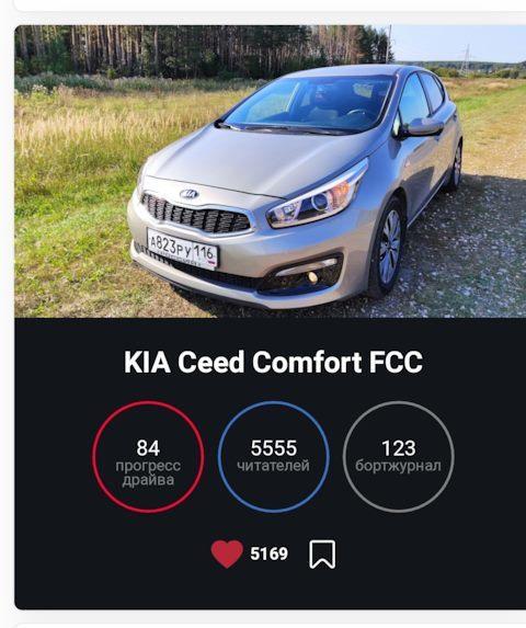 Отзывы о KIA Ceed