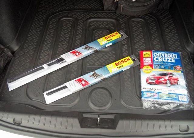 Как выбрать и установить дворники Chevrolet Cruze