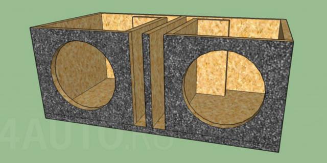 Короб под Урал ТТ 12 - чертеж ФИ на щели | 35hz