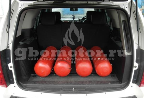 Газовое оборудование для автомобилей: Метан