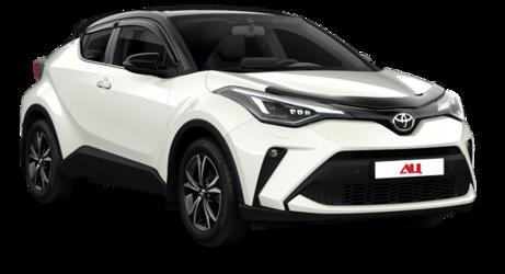 Новая Toyota C-HR проехалась без камуфляжа по Тольятти