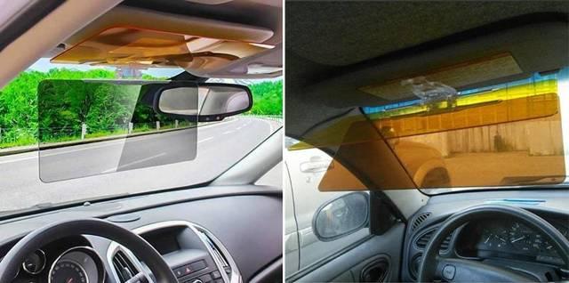 Что такое солнцезащитный козырек день-ночь для автомобиля
