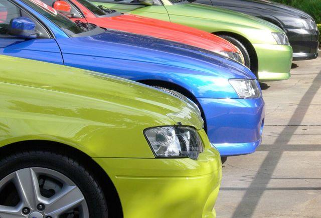 Как выбрать цвет автомобиля
