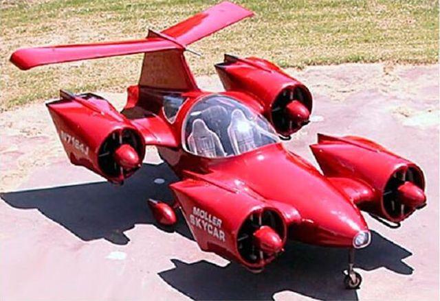 Вперед в будущее: летающие автомобили