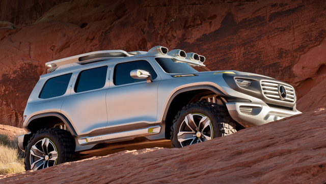 Ener-G-Force от Mercedes-Benz