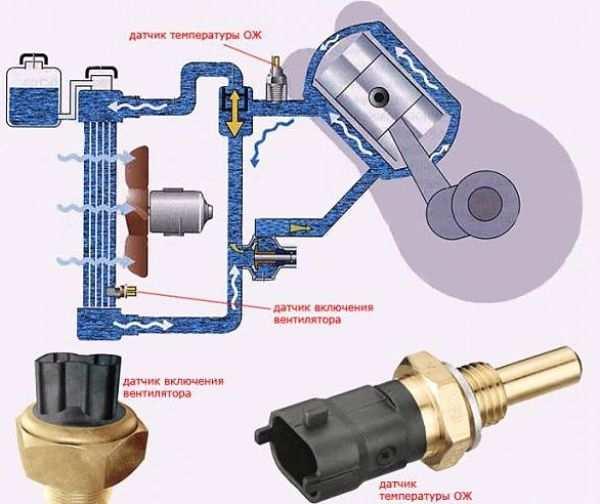 Как устроена и по какому принципу работает система охлаждения силового агрегата
