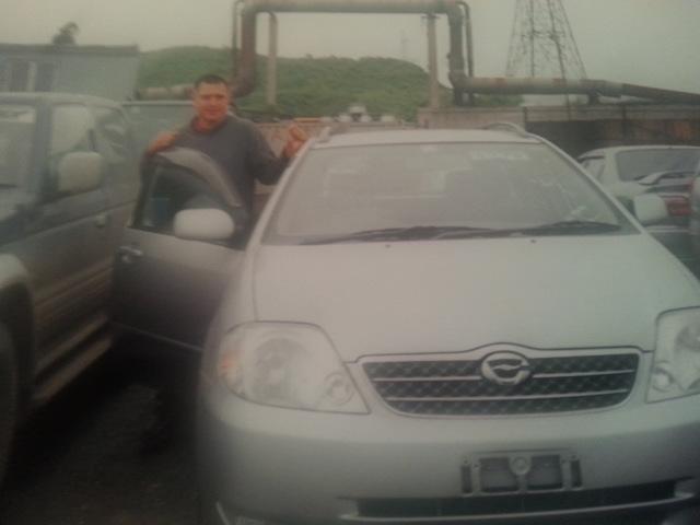 За машиной в Приморье