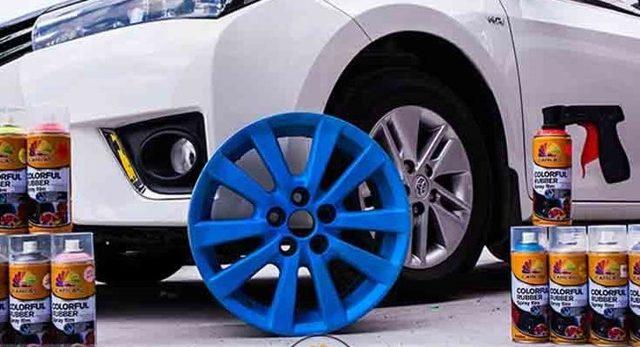 3 основных способа покрытия автомобиля жидкой резиной