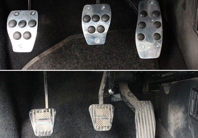Виды накладок на педали, их выбор и установка