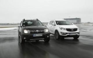 Mitsubishi ASX vs Kia Sportage vs Renault Duster