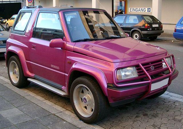 Городской внедорожник Suzuki Grand Vitara