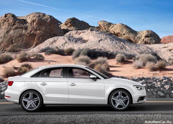 Седан Audi A3 в Нью-Йорке