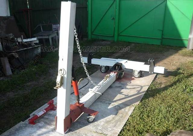 Как изготовить стапель для кузовного ремонта самостоятельно в 4 этапа? Подробная инструкция